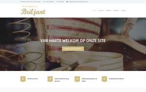 Screenshot website meubelstoffeerder Briljant