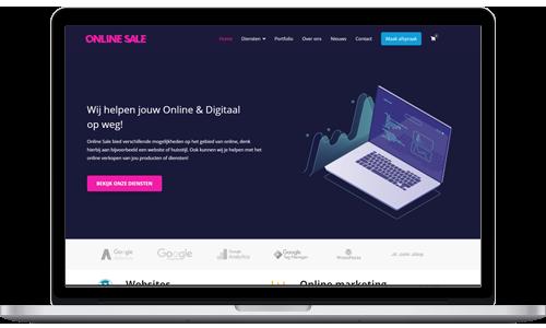 Computer eigen website